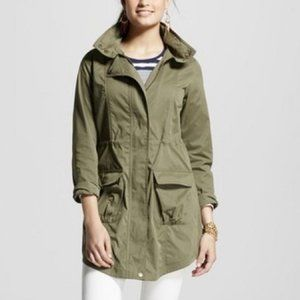 Anorak Military Utility Army green Jacket Small